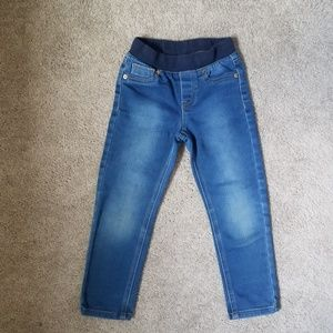 3 for $10 - 4t Straight Leg Stretchy Jeans